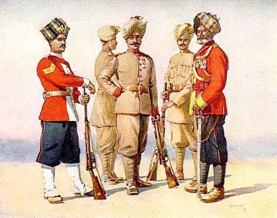 122nd Rajputana Infantry (God's Own)