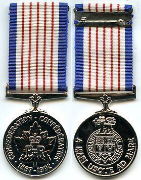 125th Anniversary of the Confederation of Canada Medal