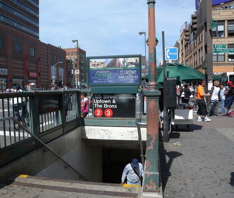 125th Street (IRT Lenox Avenue Line)