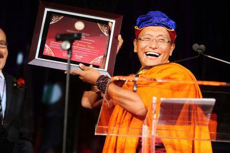 12th Gyalwang Drukpa Drukpa Publications His Holiness the Gyalwang Drukpa Honored by