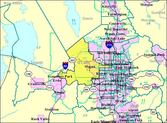 12th Utah Senate District