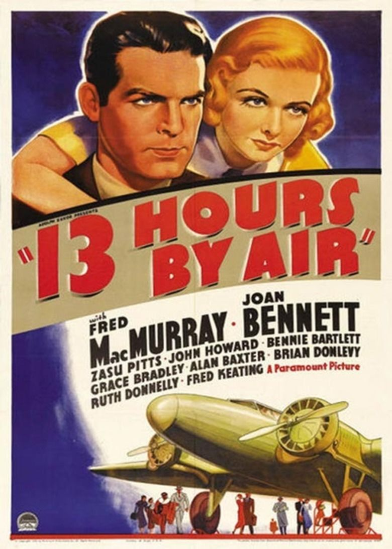 13 Hours by Air movie poster