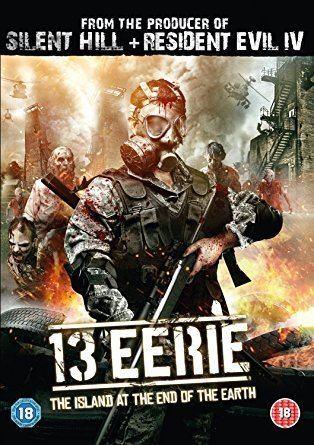 13 Eerie 13 Eerie DVD Amazoncouk Lowell Dean DVD Bluray