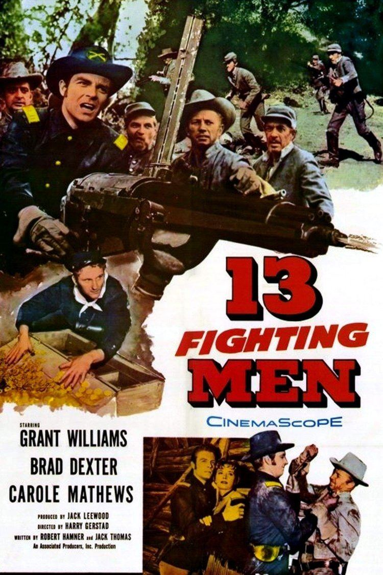 13 Fighting Men wwwgstaticcomtvthumbmovieposters20398p20398