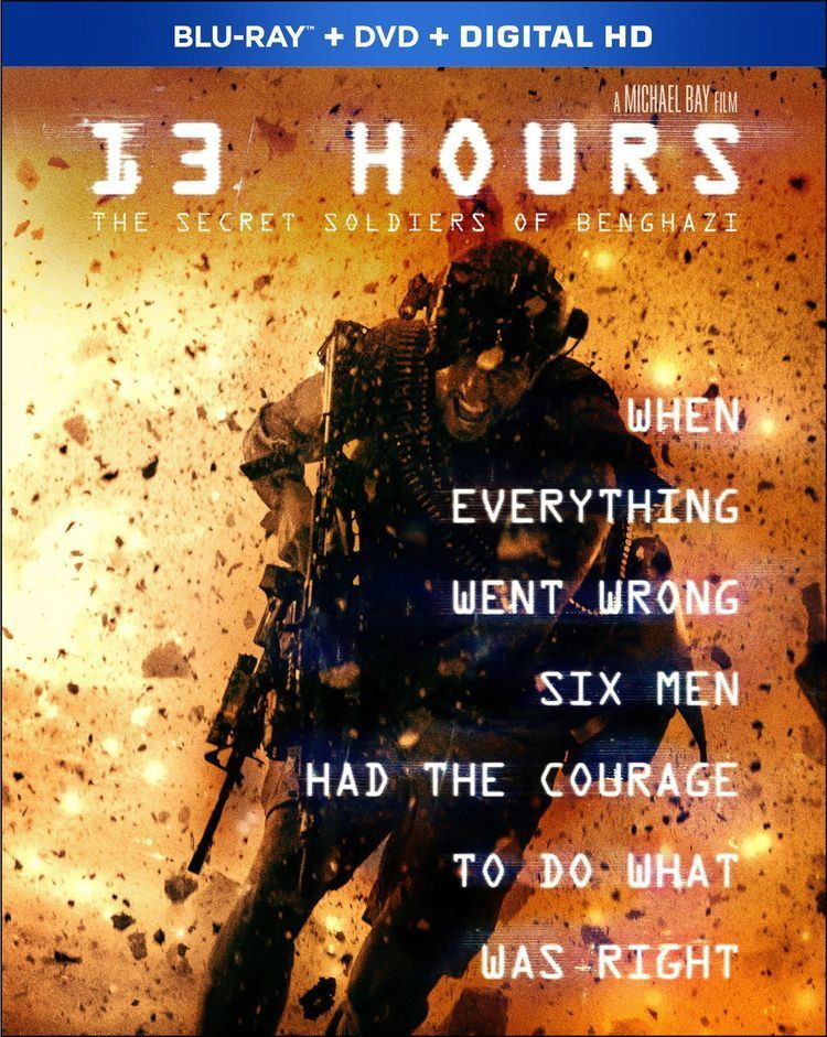 13 Hours: The Secret Soldiers of Benghazi 13 Hours The Secret Soldiers of Benghazi DVD Release Date June 7 2016