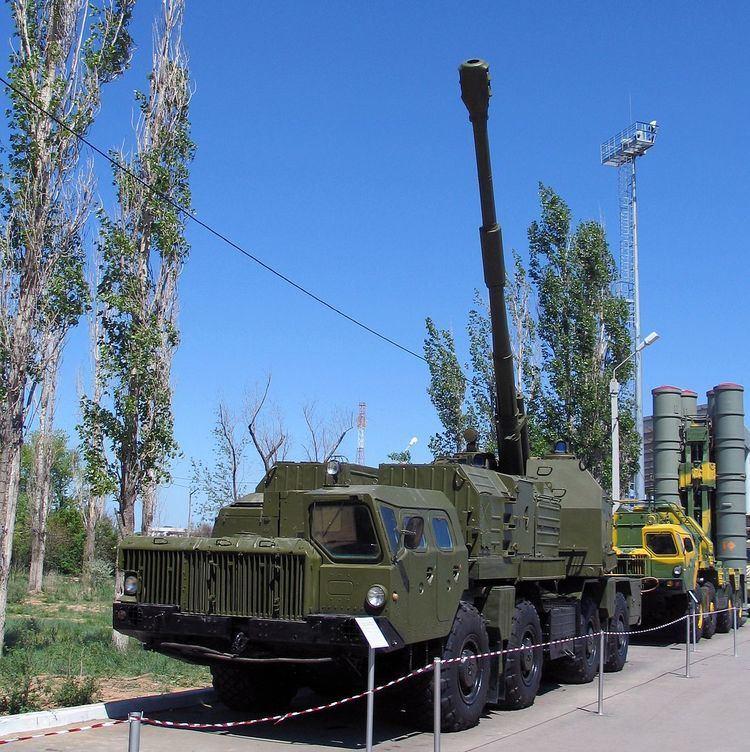 130 mm coastal defense gun A-222