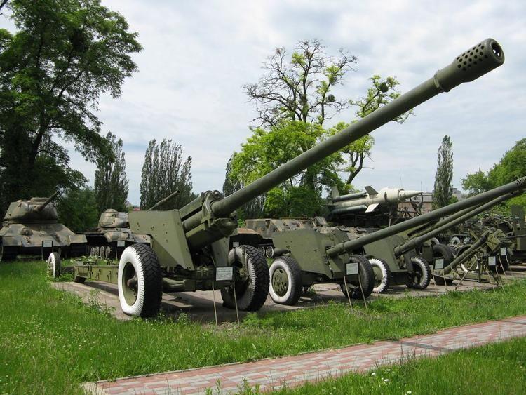 130 mm towed field gun M1954 (M-46)