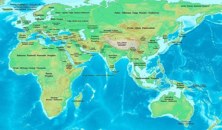 1300s BC (decade)