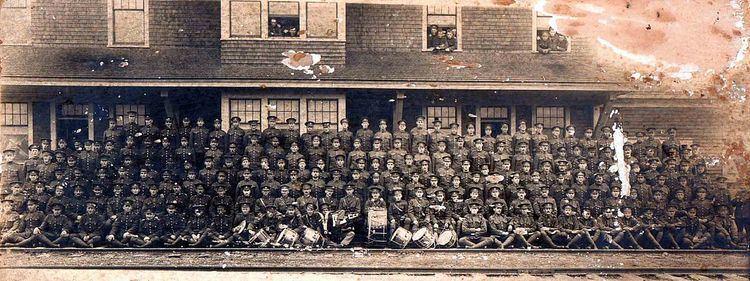 132nd Battalion (North Shore), CEF