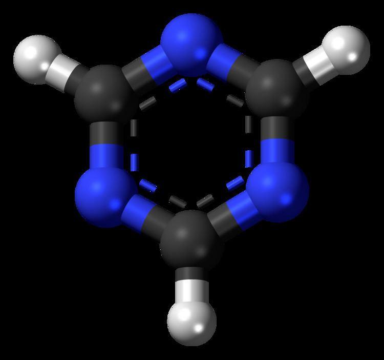 1,3,5-Triazine File135Triazine3Dballspng Wikimedia Commons