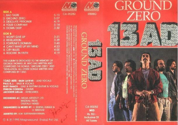 13AD (band) GROUND ZERO by 13AD 33dots