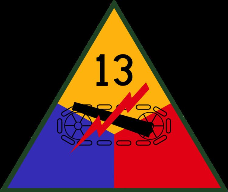 13th Armored Division (United States)