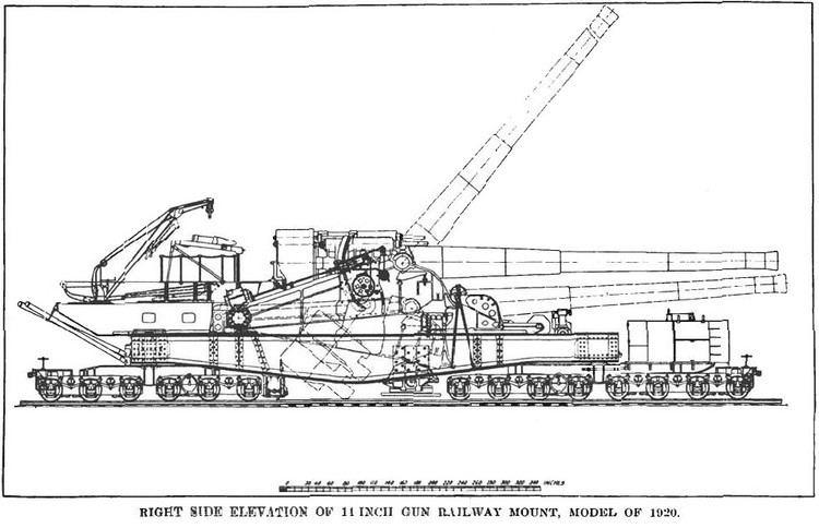 14-inch M1920 railway gun