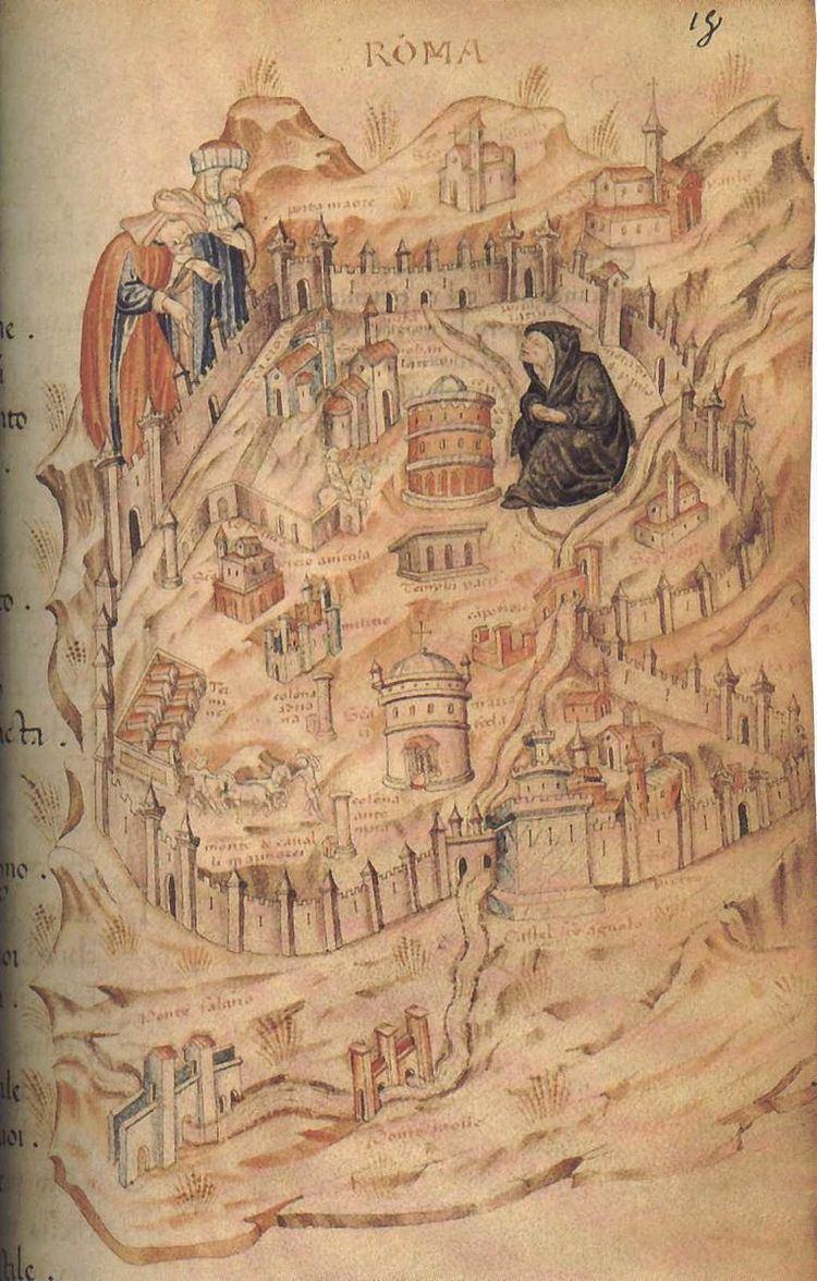 14 regions of Medieval Rome