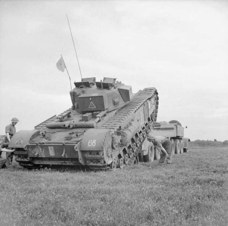 144th Regiment Royal Armoured Corps