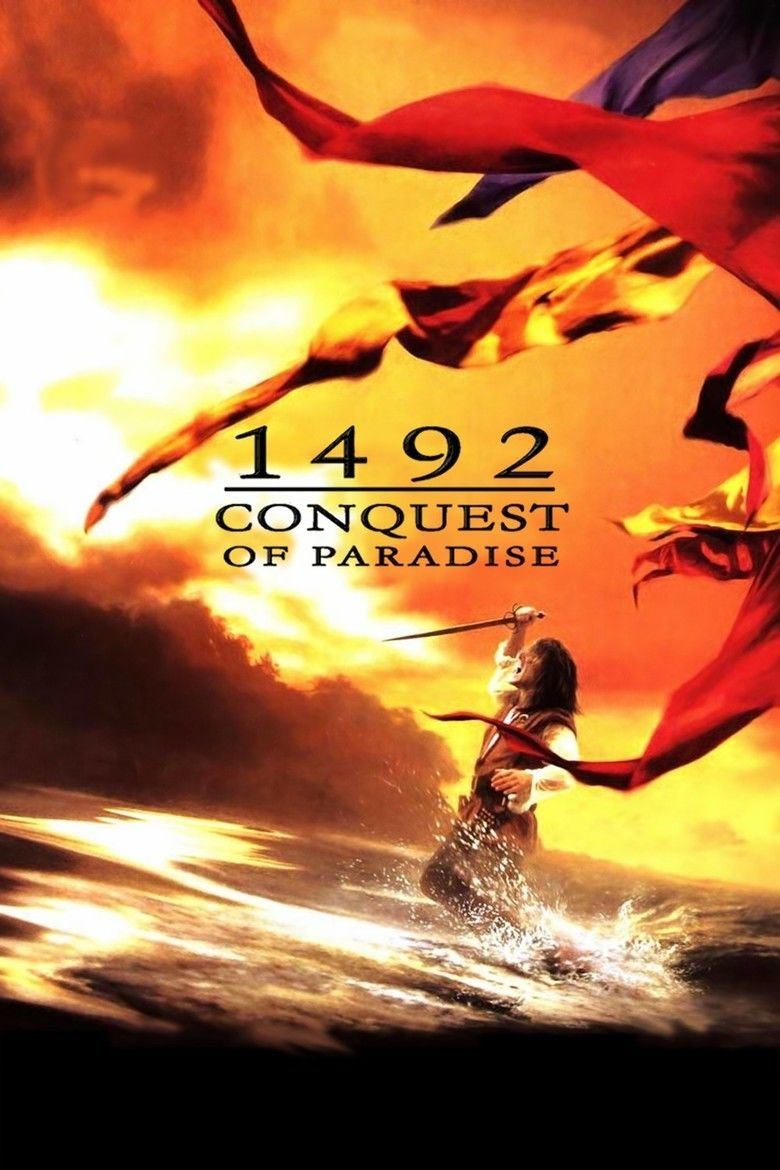 1492: Conquest of Paradise movie poster