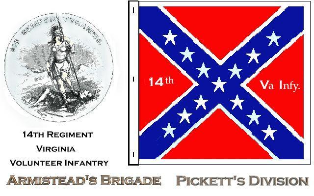 14th Virginia Infantry wwwoocitiesorgvirginia14thlogoJPG