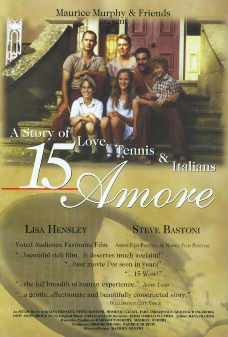 15 Amore movie poster