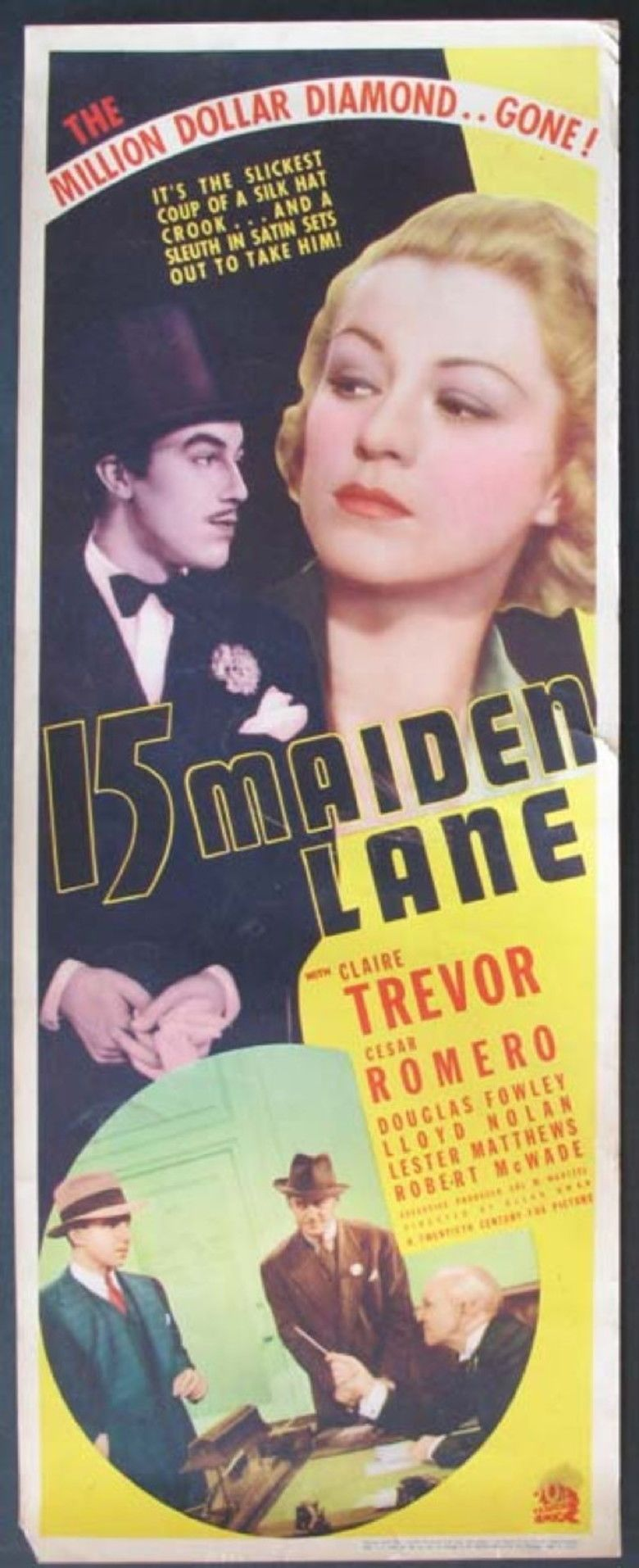 15 Maiden Lane movie poster