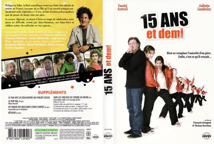 15 ans et demi Jaquette DVD de 15 ans et demi Cinma Passion