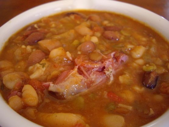 15 bean soup 15Bean Soup Recipe Foodcom