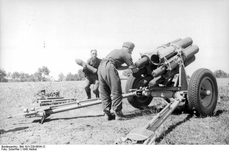 15 cm Nebelwerfer 41