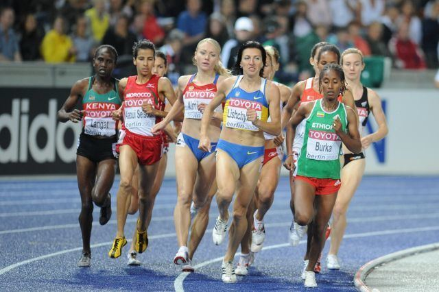 1500 metres at the World Championships in Athletics