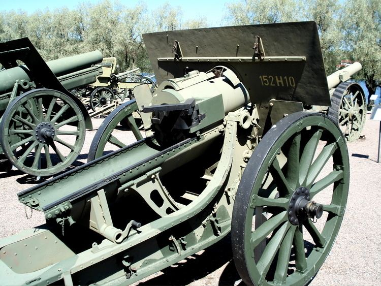 152 mm howitzer M1910
