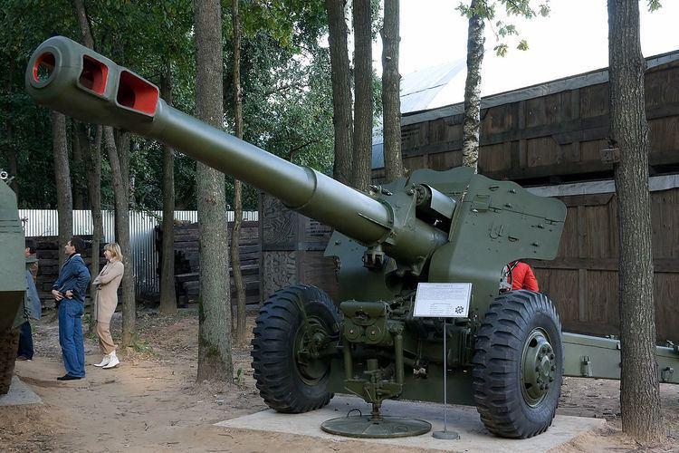152 mm towed gun-howitzer M1955 (D-20)