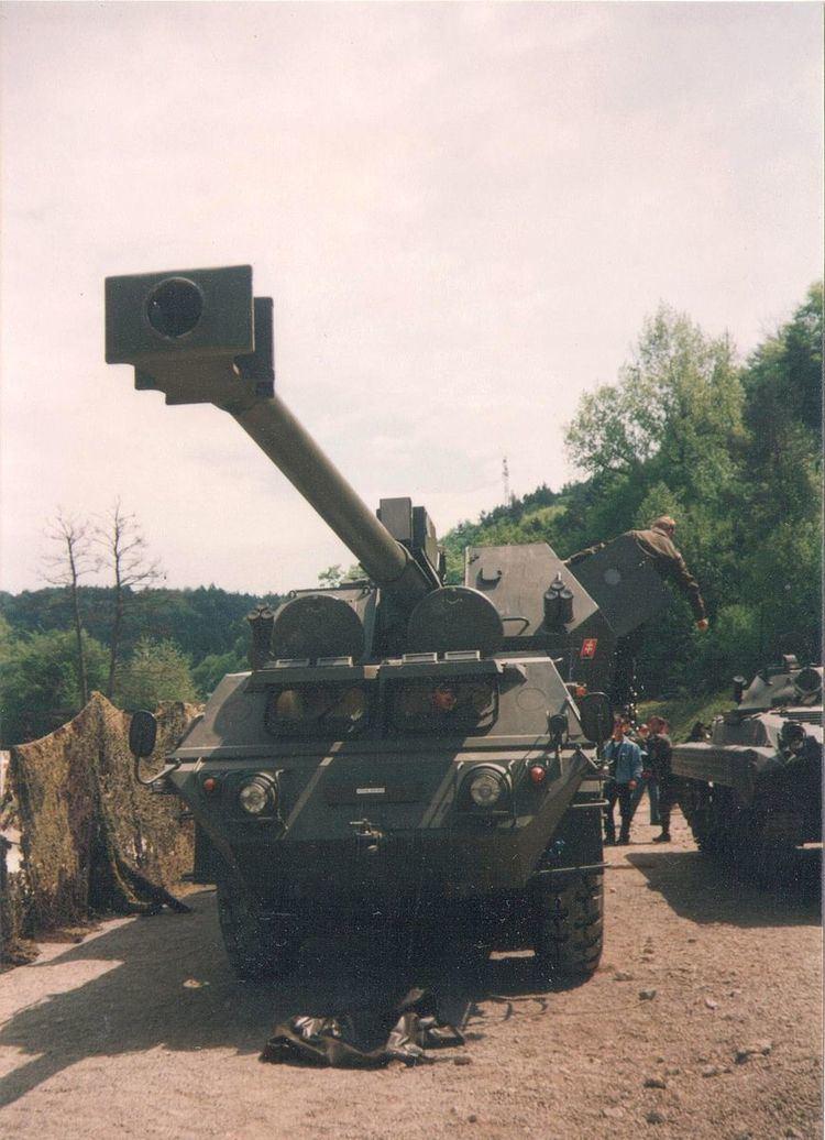 155mm SpGH ZUZANA