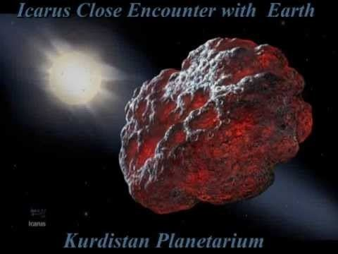 1566 Icarus Asteroid 1566 Icarus Close Encounter with Earth 16 Jun 2015 YouTube