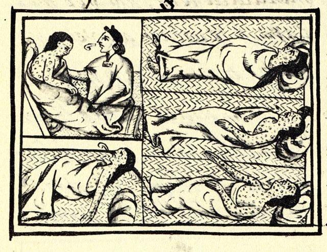 1576 Cocoliztli epidemic