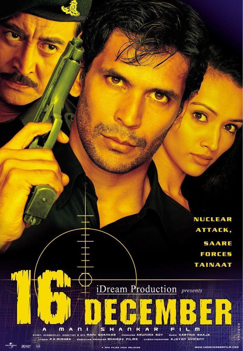 16 December (film) movie poster