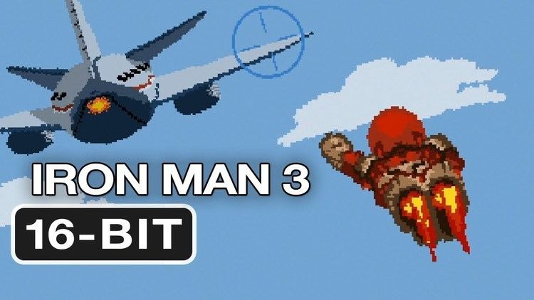 16-bit 16Bit Iron Man 3 Movie Homage HD Video Game YouTube
