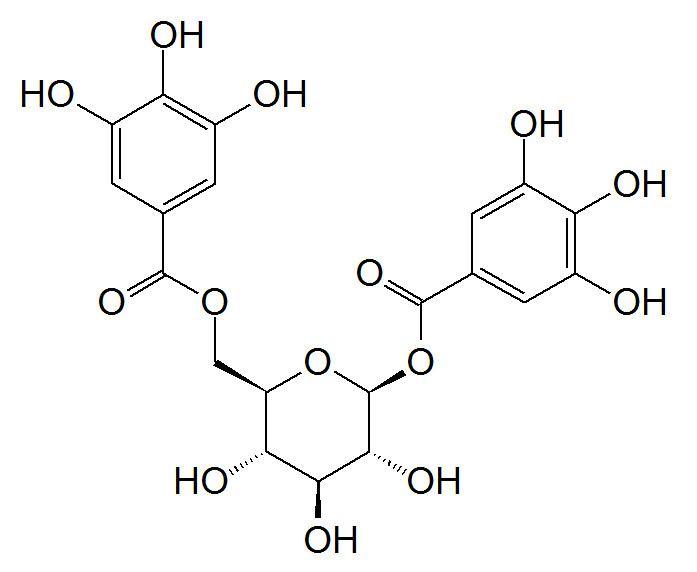 1,6-Digalloyl glucose