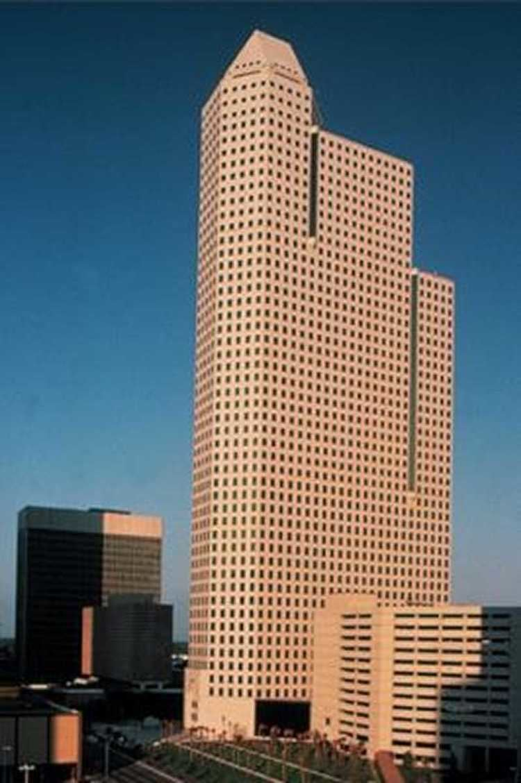 1600 Smith Street Houston Office Architect Commerical Office Design