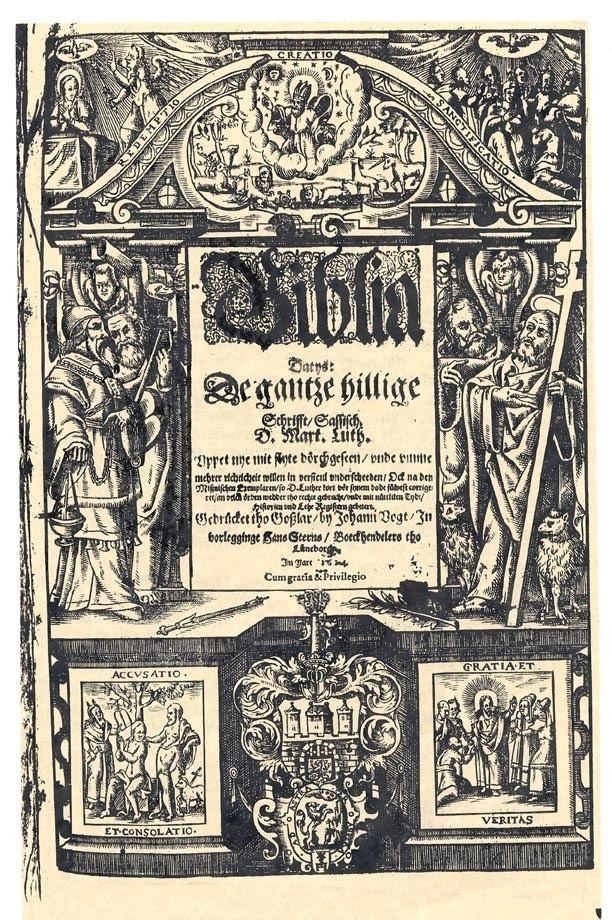 1614 Low German Bible