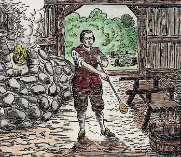 1619 Jamestown Polish craftsmen strike