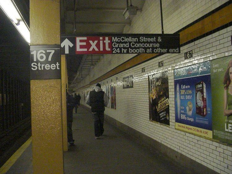 167th Street (IND Concourse Line)