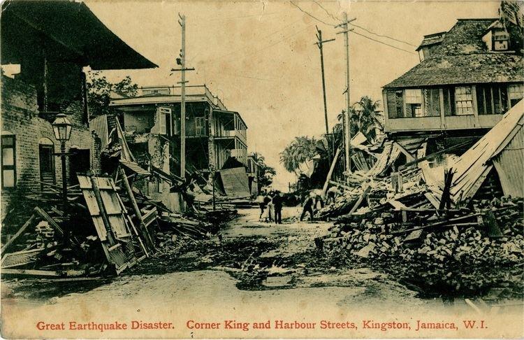 1692 Jamaica earthquake The Great Kingston Earthquake amp Fire of January 14 1907 Jamaican