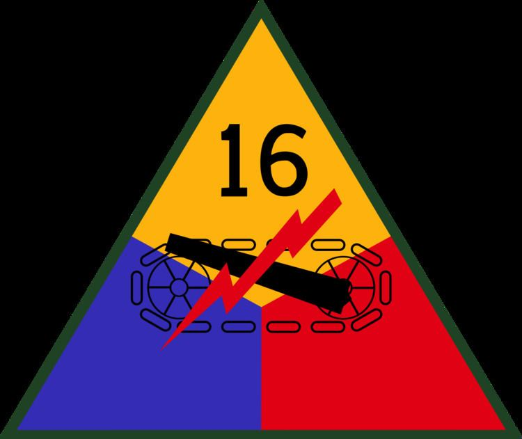 16th Armored Division (United States)