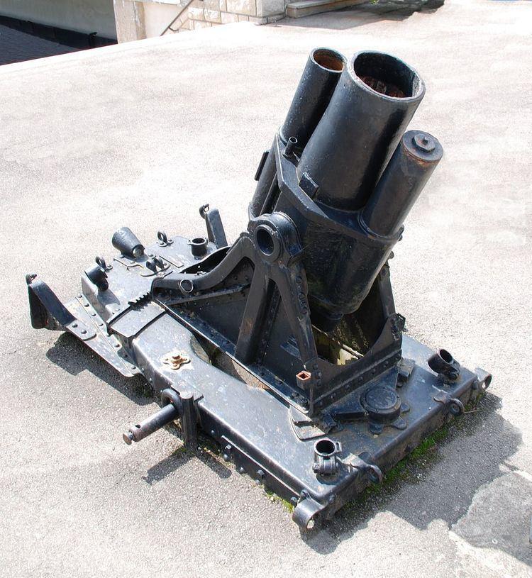17 cm mittlerer Minenwerfer