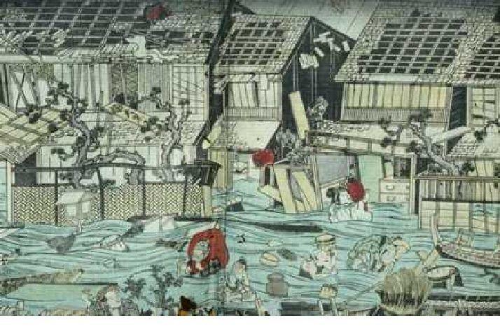 1703 Genroku earthquake httpsdevastatingdisasterscomwpcontentupload