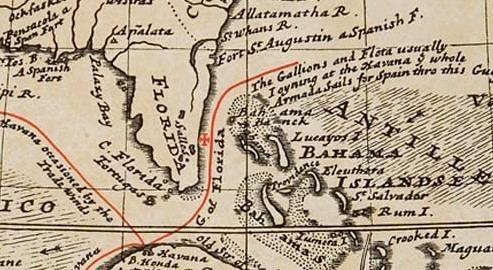 1715 Treasure Fleet Numismatic History The Loss of the 1715 Spanish Treasure Fleet