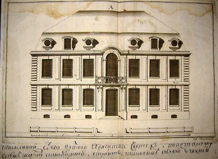 1716 in architecture