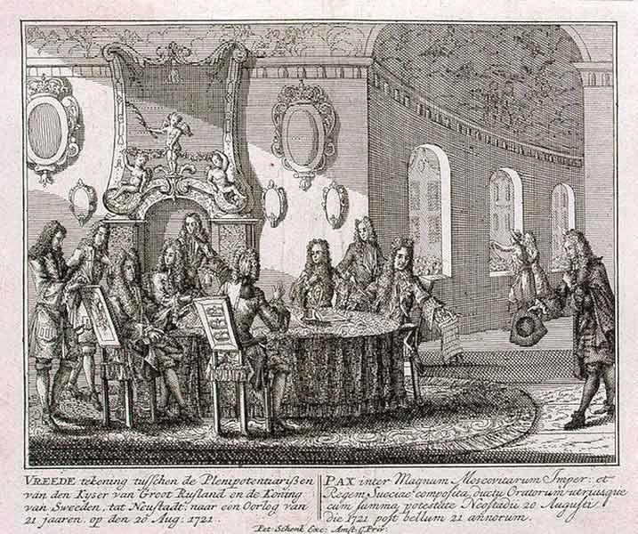 1721 in Sweden
