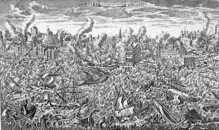 1755 Lisbon earthquake File1755 Lisbon earthquakejpg Wikimedia Commons