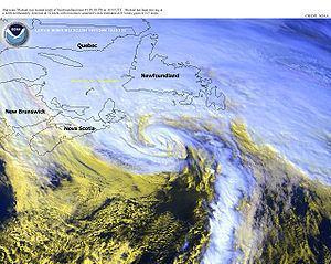 1775 Newfoundland hurricane List of Newfoundland hurricanes Wikipedia