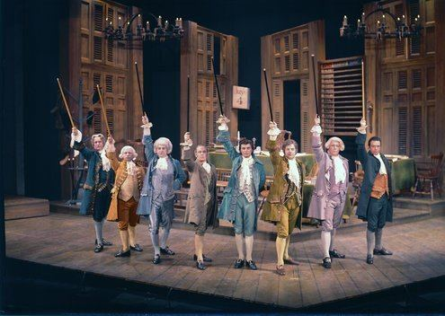 1776 (musical) Review 39177639 a Musical Portrait of Squabbling Politicians The
