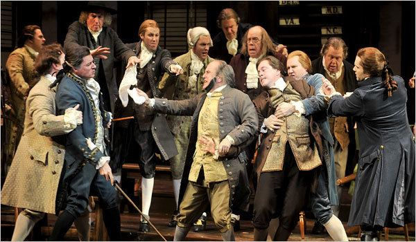 1776 (musical) Audition Inspiration 1776 The City Audition